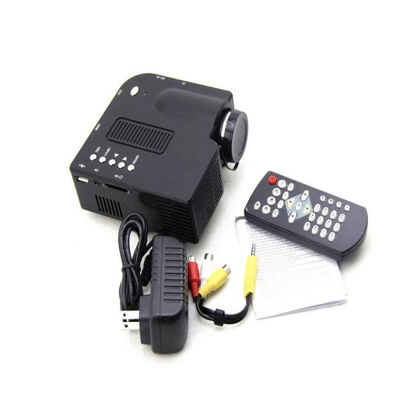UC28+ Portable mini Projector HD1080P Home Multimedia LED Mini Theater projector Hot Sale