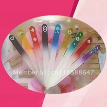5 pc/ set Multiple styles diamond Crystal glass nail file tools New Fashion hot sale Beauty accessories Article Nail File