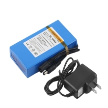 DC 1298A 12V 9800MAH Large Capacity Super Powerful Rechargeable Lithium Battery Pack For Camera