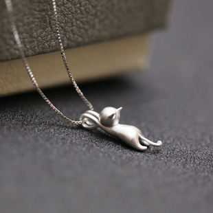 925 Sterling Silver Jewelry Sterling Silver Necklaces & Pendants Statement Necklace Summer Jewelry For Women Bijoux