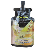 Skin Care 24 K Gold Personality Acne Removing Moisture To Black Gold Mud Mask Face Mask