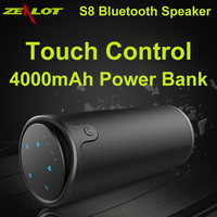 Handsfree Wireless Portable Speaker Touch Operation Mini Enceinte Altavoz Bluetooth Speaker Power Bank AUX TF Card