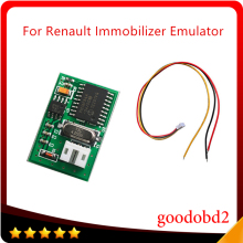 For Renault Immobilizer Emulator Work with Renault ECU Decoder PCB Board Immo Emulator Tool with Wires Connected   2016 free shipping for yamaha immo emulator full chips for yamaha immobilizer bikes motorcycles scooters from 2006 to 2009