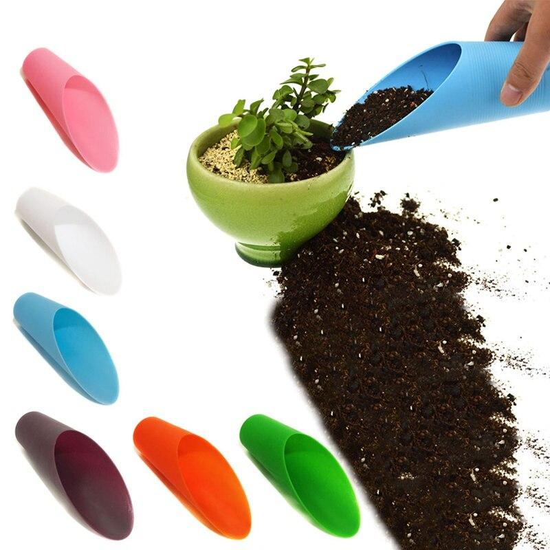 Plant Soil Spade Shovel Garden Tool Plastic Potted Micro-landscape Garden Tool Bucket Shovel Potted Cultivation Cylinder