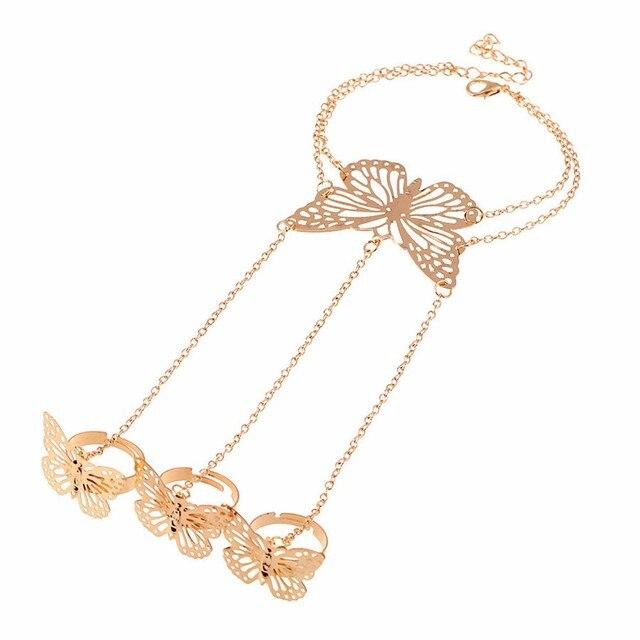Bohemian Chain Bracelets...
