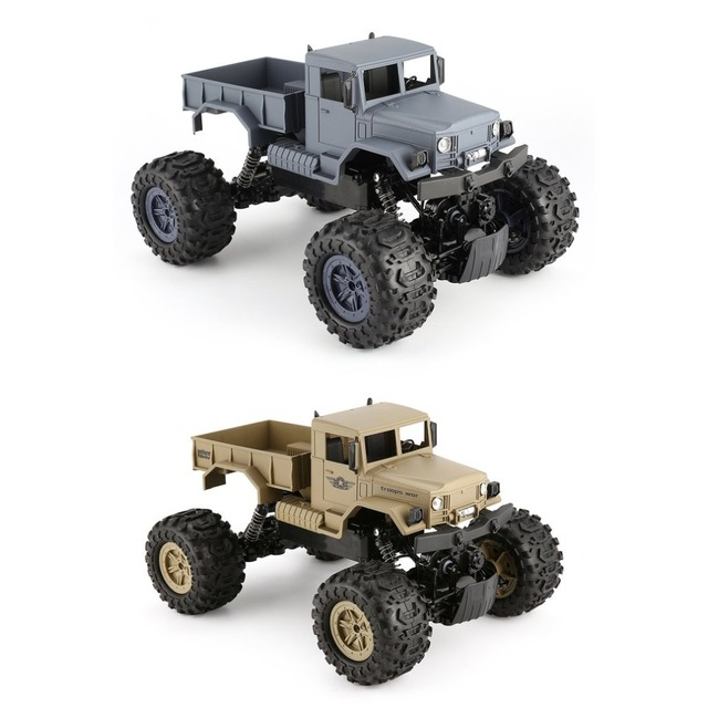 ZEGAN RC Truck ZG-C1231W 4WD 1/12 2.4G Military Off-Road Climber Crawler Car Remote Control Vehicle for Kids Toy Children Gift