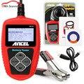 Analizador de la batería 12 v ANCEL BA-101 BA101 auto analizador de la batería del coche del automóvil Automotriz Analizador de Baterías 2000CCA 220AH