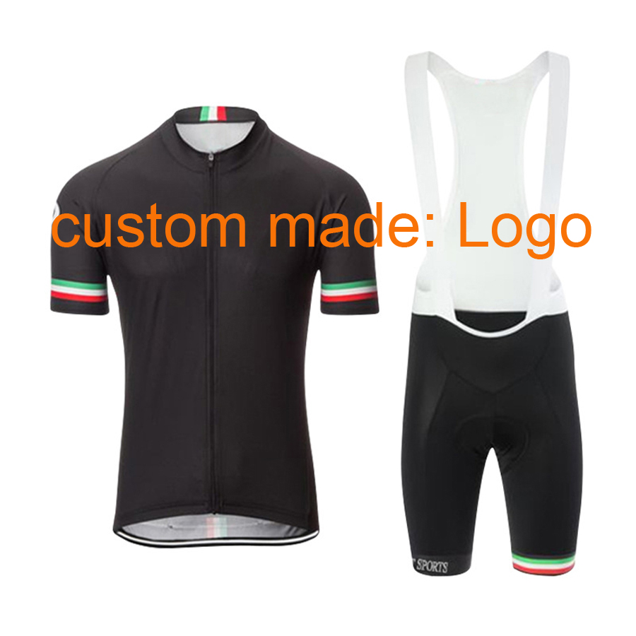 NEWBOLER Cycling Jersey Summer Short Sleeve Set Customizable LOGO Quick Dry MTB Bike Clothing OEM Custom Made Bicycle Equipment