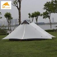3f Ul Gear 2017 New Arrival 2 Person 1 Person Ultralight Camping Tent NON POLE Barraca