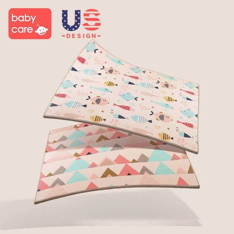 Tapis de ramper infantile épaississement XPE Protection de l'environnement mousse incassable Pad salon maison bébé jeu couverture
