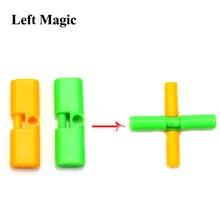 1 шт. крестик волшебные фокусы карты волшебник Головоломка Развивающие игрушки для детей подарок случайного цвета C2061