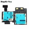 SD Sim Card Reader Holder Slot Flex Cable Ribbon For Samsung Galaxy S4 GT i9500 i9505 i337