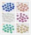 50pcs/lot 10mm multi colour option Round Flatback Rhinestones Resin Sew-on Stones DIY Sewing Crystals 080002057