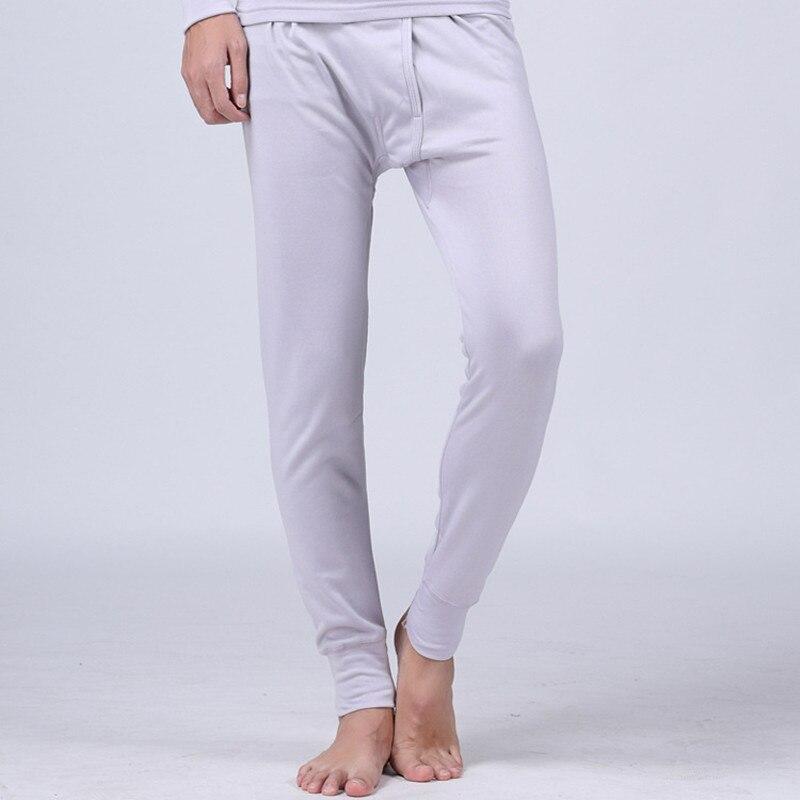 2018 Brand Mens Thermal Underwear Pants Winter Modal Long Johns Tights Warm Pijama Mens  ...