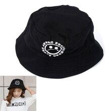 9e469f2764e Boonie Flat Fishman Hat Summer KYC Vintage Black Bucket Hat Sad Boys Men  Women Hip Hop