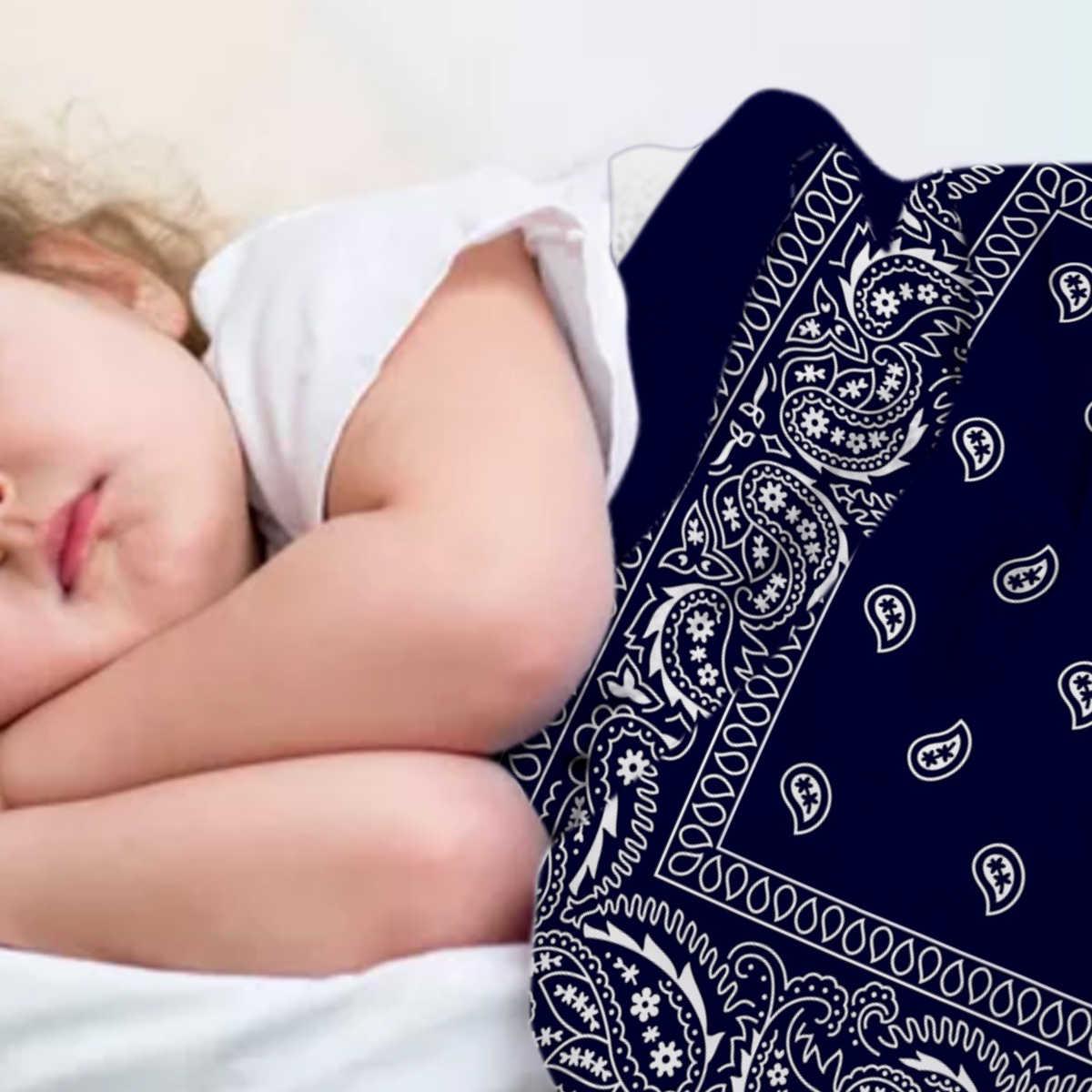ผ้าพันคอน้ำเงินตะวันตกเฉียงใต้โยนผ้าห่มไมโครไฟเบอร์ผ้าห่มผ้าห่มสำหรับห้องนอน