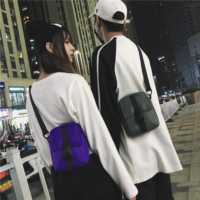 2019 Hot Crossbody Bags for Women Men Casual Mini Small Waterproof Nylon Sling Shoulder Messenger Bags for Girls Boys Purse