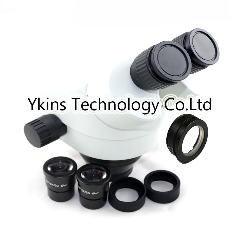 3.5X 7X 45X 90X Eletrônico industrial reparo do telefone microscópio estéreo binocular cabeça para SMT PCB reparo do telefone
