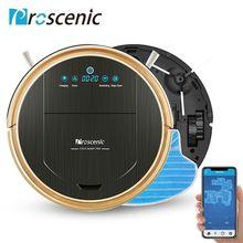Proscenic 790 т Робот пылесос Максимальная мощность всасывания с приложение управления самозарядки пылесос-робот для домашнего