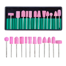 Milling Cutter for Manicure Nail Drill Bits Set Electric Pedicure Machine Accessories Nail Files Manicure Nail Art Tool Cutters
