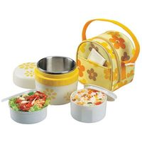 Hot Sale Stainless Steel Insulation Thermo Thermal Lunch Box Food Container Storage For Food With Containers