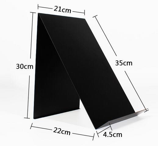 Black white opções livro T-shirt de metal cremalheira de exposição carrinho de exposição do desktop