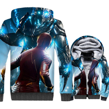 men casual wool liner jackets 2019 fashion high quality hooded tracksuits The Flash Super hero 3D prints mans coats