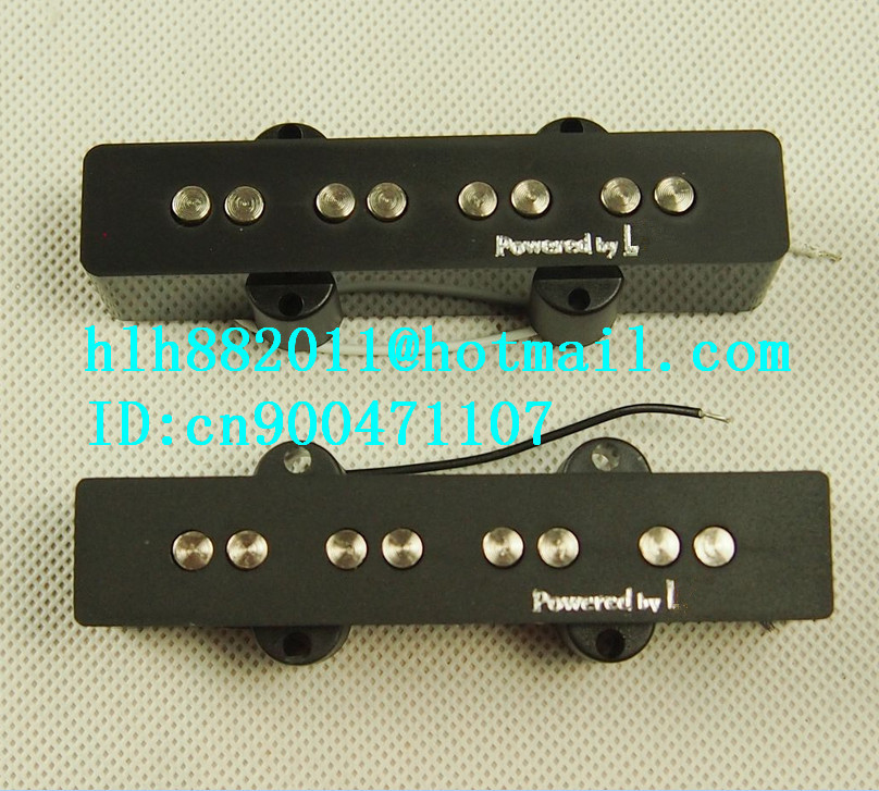 free shipping new electric bass guitar pickup in black made in South Korea  LA-8326 belcat bass pickup 5 string humbucker double coil pickup guitar parts accessories black