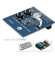 Infrared Control Expansion Board Transceiver Receiver Transmitter Shield DIY Double IR Emitter For Raspberry Pi