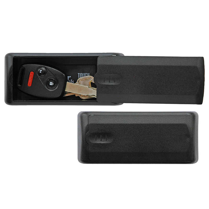 Master Lock 207D Portable Magnetic Key Case Plastic Rust-free Construction Hidden Magnet Safe Box Key Storage Box
