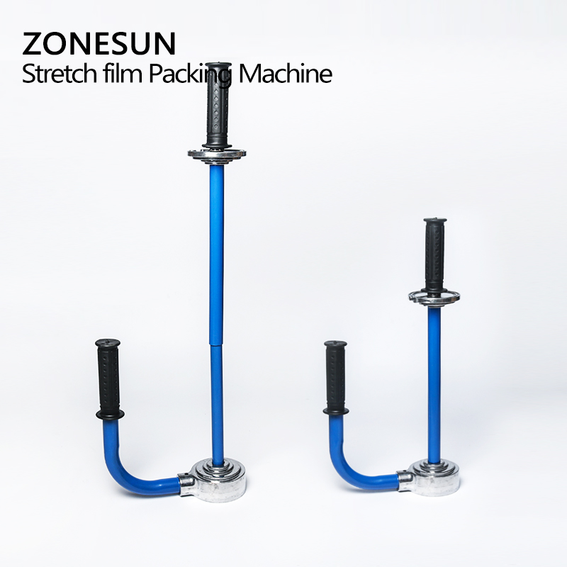 zonesun e610 stretch wrap film tool stretch film wrapper dispenser wrap film tool hand stretch film wrapping tool in tool parts from tools on - Stretch Wrap Film