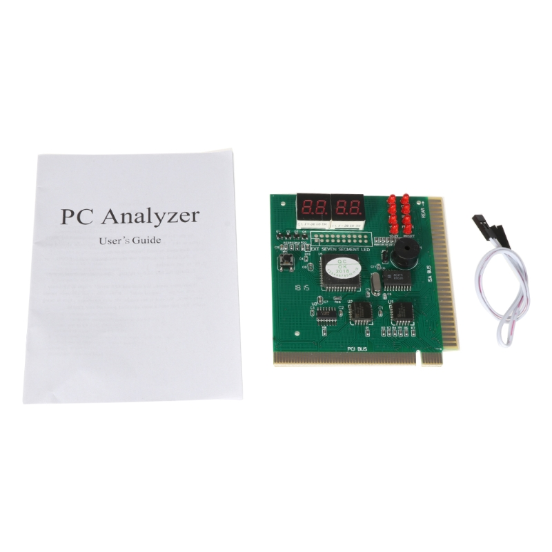 Gelernt Für 4 Digit Pc Computer Diagnose Karte Motherboard Mainboard Post Tester Pci Isa