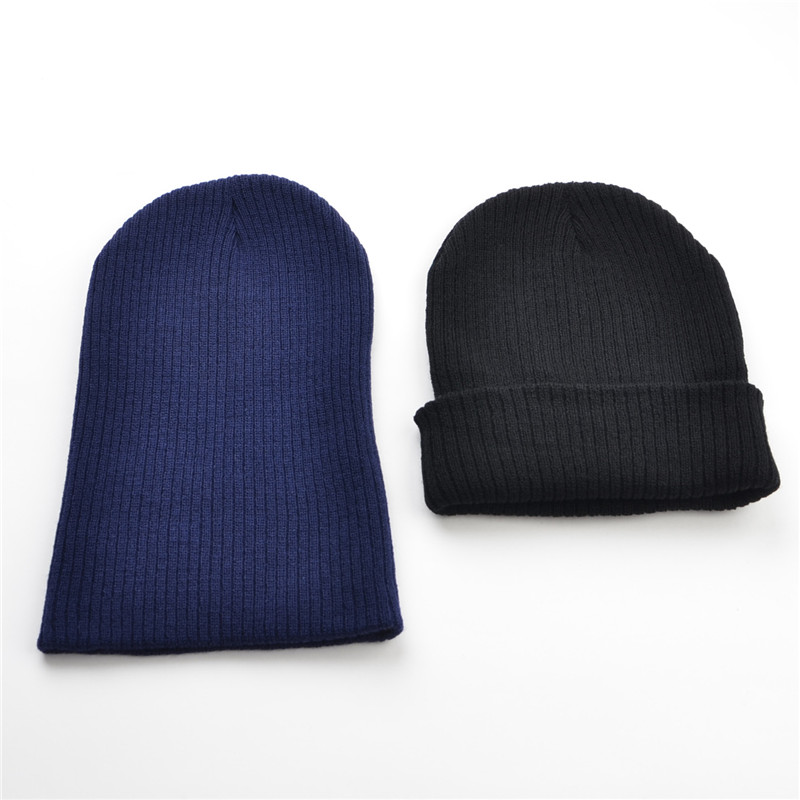 018c0509946 Aliexpress.com   Buy Man Winter Hats For Women Beanie Cap Unisex Cuffed  Plain Skull Beanie Toboggan Knit Hat Very Soft from Reliable knitted hat  suppliers ...