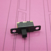 Toggle Switch with Mounting Hole 2 Stalls Circuit Components DIY Model Parts Switch