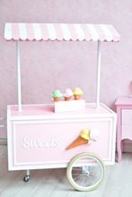 LIFE MAGIC BOX Seamless Wrinkle-free  Washable Birthday Ice Cream Car Photo Backdrops Studios Photography Backgrounds