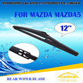 Lâminas Do Limpador traseiro Para MAZDA 5 (2005-) 2006 2007 2008 2009 2010 2011 2012 2013 14 Traseira Do Carro Windscreen Windshield Wiper Blade 12""