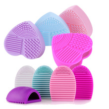 AddFavor Makeup Brush Scrubber Cleaner Brush Cleaner,Cosmetic Brush Acc