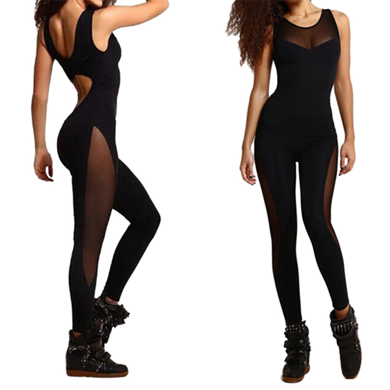 6e9ae9f4bc3 Women s Sport Yoga Gym Rompers Suit Leggings Pant Jumpsuit Fitness Workout  Running Bodysuits wholesale