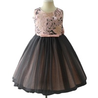 3 10Yrs Dress Free Crown Baby Girls Cinderella Princess Dresses Princess Aurora Cotton Wedding Clothing Kids