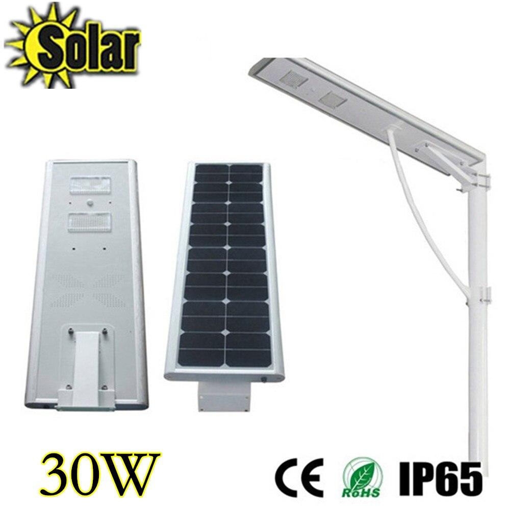 30w Solar Power Energy Pir Infrared Motion Sensor Garden Security Wiring Outdoor Lights In Parallel Lamp Light Street Integration Lamps From