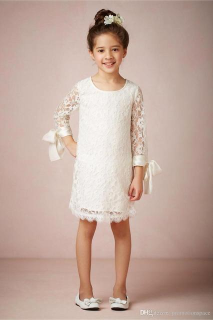 vestidos de primera comunion hasta la rodilla