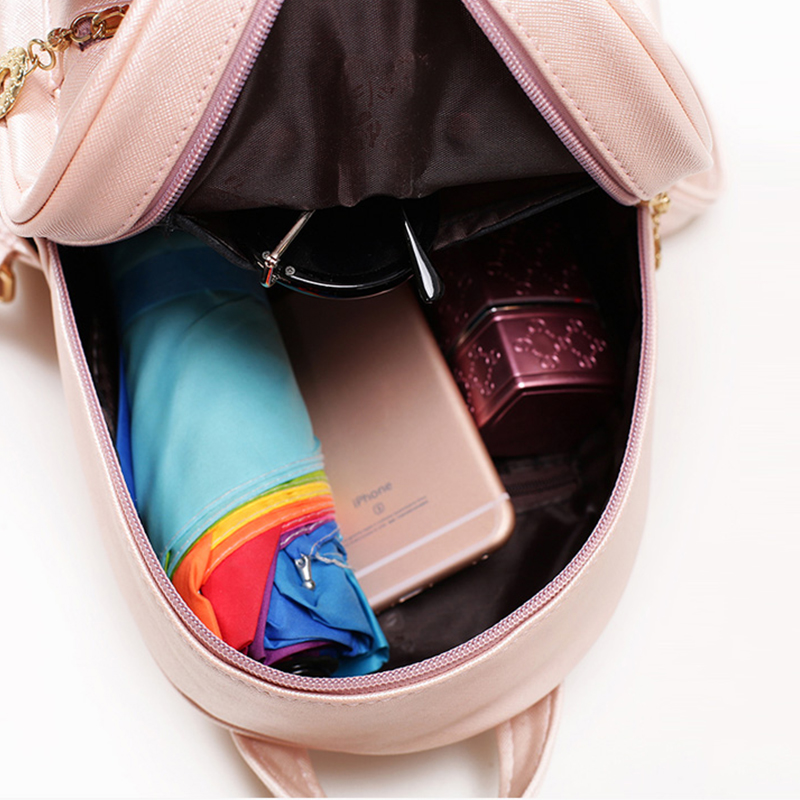 NEW Sequin Mini rabbit ear bag backpack Fashion Ladies Girls Casual Bakcpacks European and American Preppy Style women backpacks