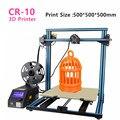 Creality CR-10 serie 3D impresora tamaño de impresión 300*300*400/400*400*400/500 * 500*500mm escritorio 3D impresora filamento libre envío libre