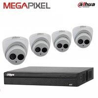 Cctv video Surveillance System Security combo kit telecamera ip 4ch HD videocamera portatile della camma 1080 P 4mp Network DVR NVR pack dahua
