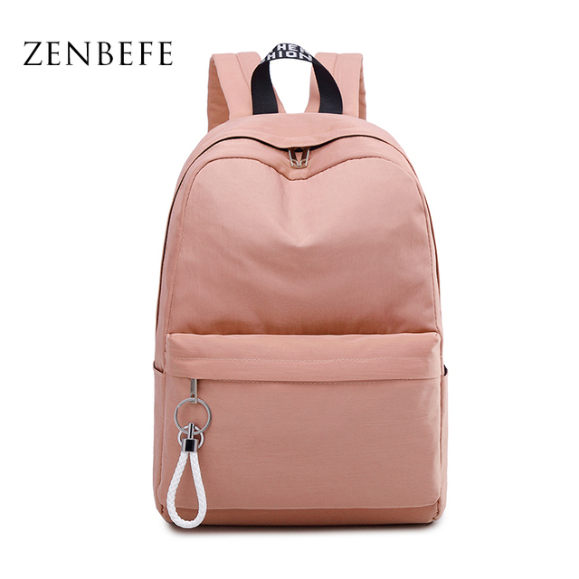 US $33.7 |ZENBEFE New Arrival Backpack Simple
