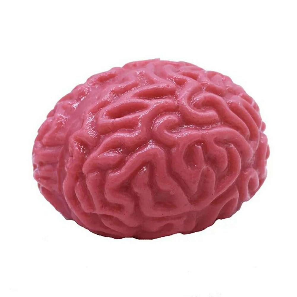 Squishy Brain Fidget Splat Ball Anti Stress Popping Anxiety Reducer Sensory Play Fun Toy For Halloween Party