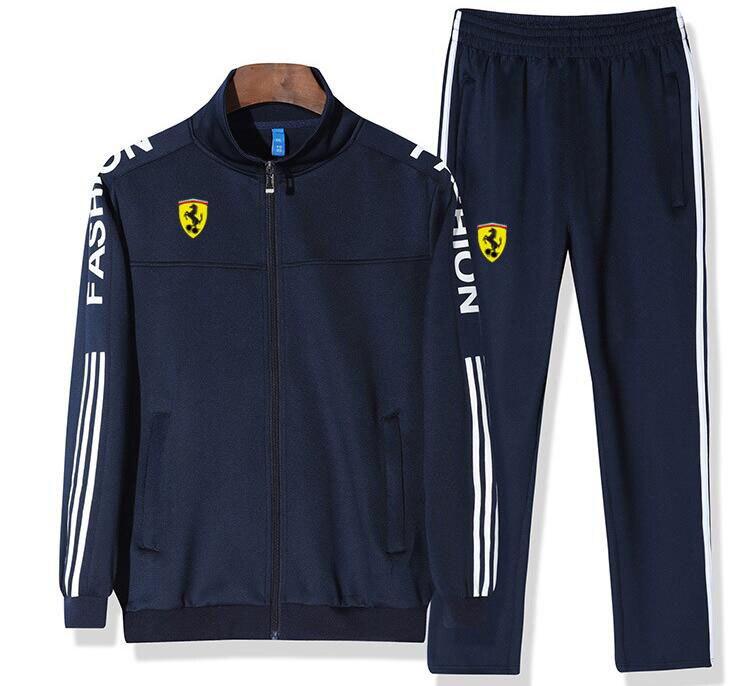 Men Jogging Sport Blazers Tracksuit Coat Jacket Trouses Pants Suit Outfit sweat suits jogger sets in Men 39 s Sets from Men 39 s Clothing