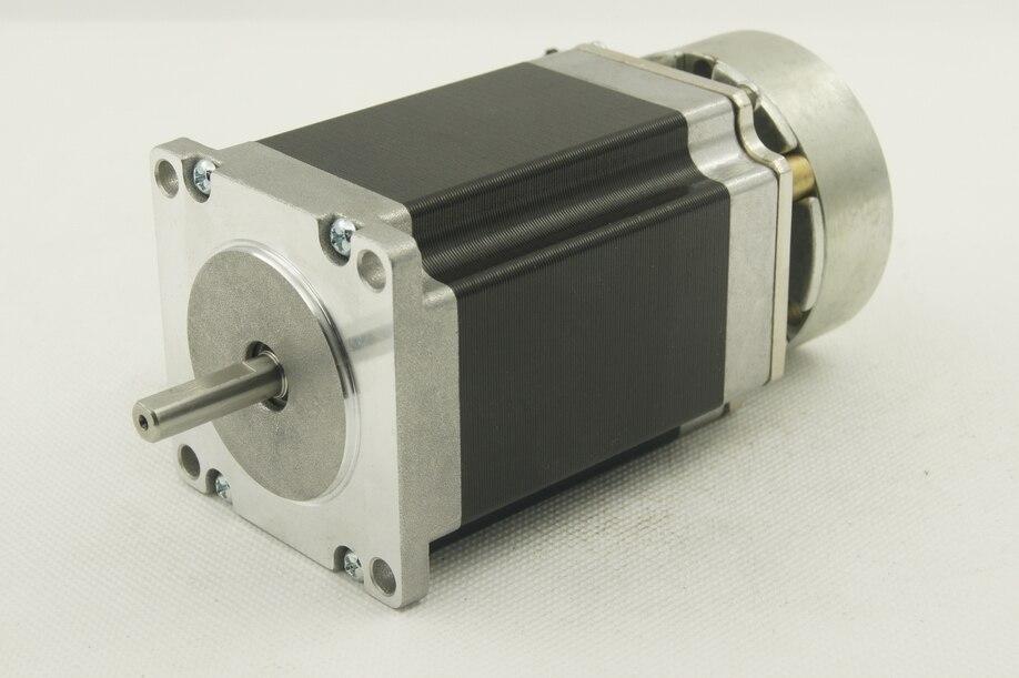 Nema23 size 57mm stepper motors with brake j57hb76 03 for M i motors