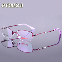 Eyeglasses Frame Women Computer Myopia Prescription Optical Clear Eye Glasses Spectacle Frame For Women's Transparent Lens RS047