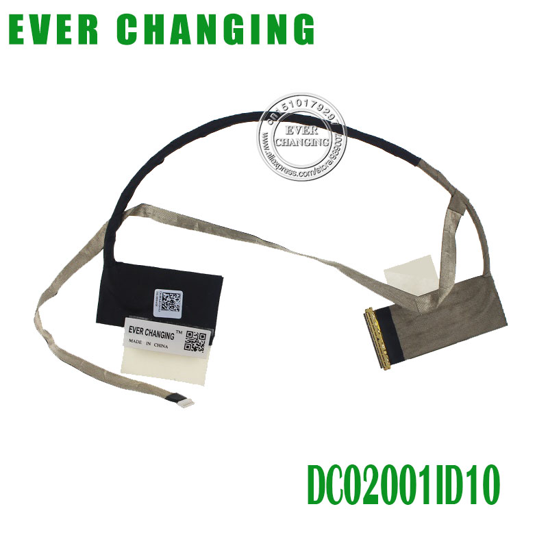 NEW LVDS CABLE FOR DELL VOSTRO 3560 V3560 LCD LVDS CABLE QCL20 DC02001ID10 CN-0R8J45